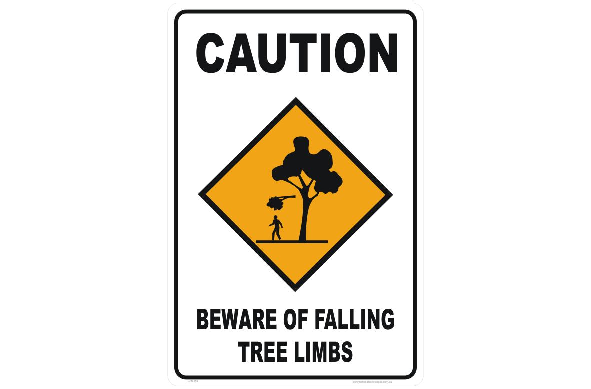 Falling Tree Limbs sign