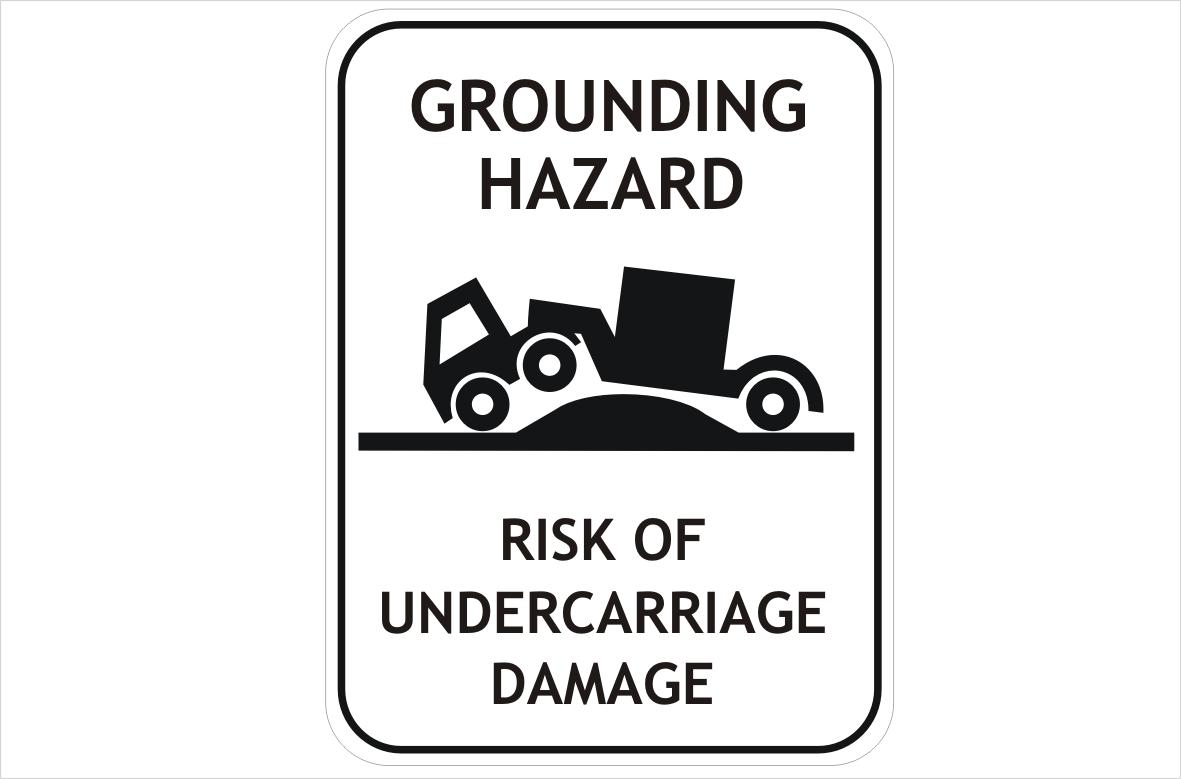 truck grounding hazard