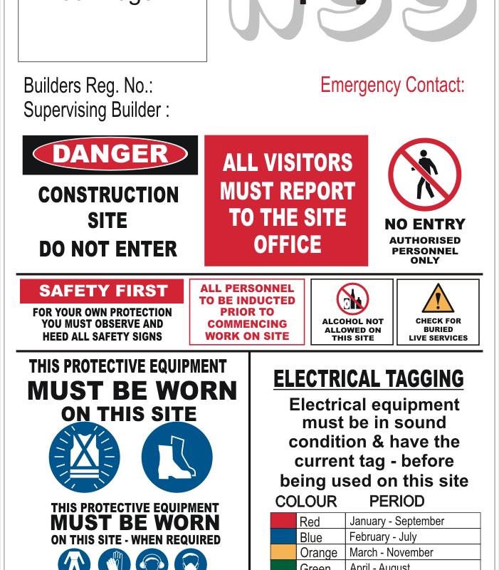 NSW Building contractors sign