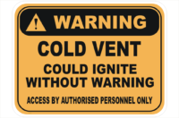 Cold Vent could ignite sign