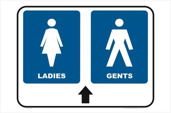 Ladies and Gents Toilet