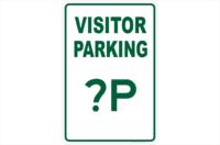Visitor Parking Design a Sign