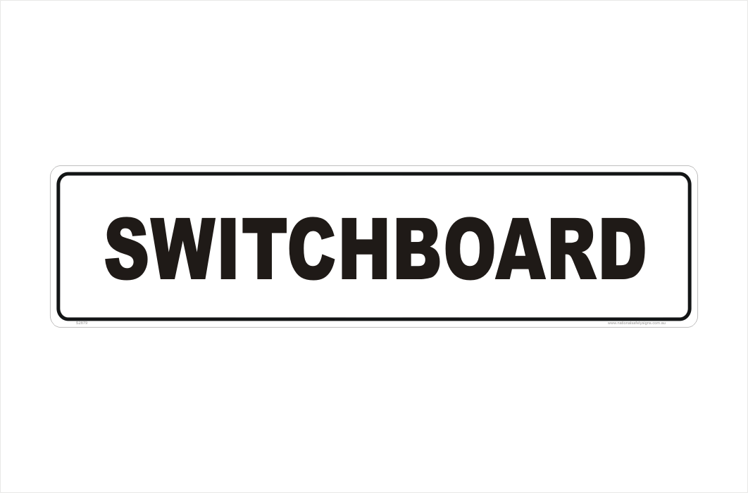Switchboard sign