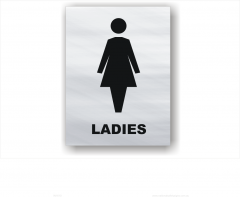 Ladies Toilet sign