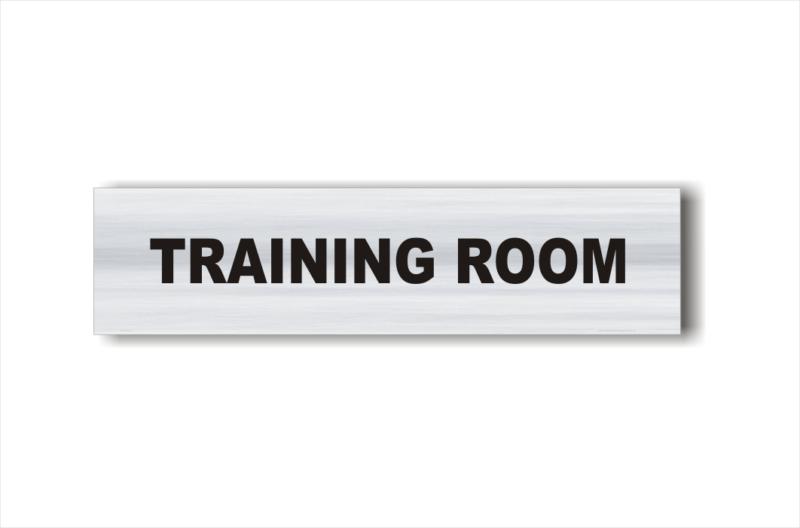 Training Room sign