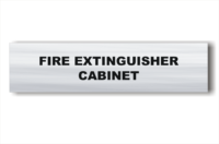 Fire Extinguisher Cabinet sign