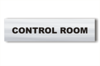 Control Room sign