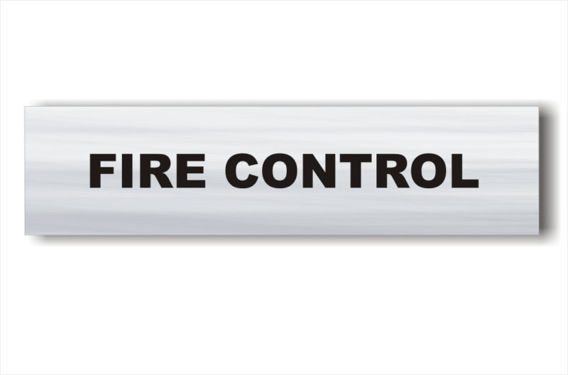 Fire Control sign