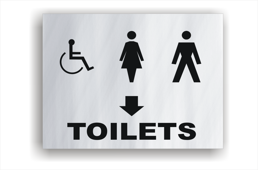Toilet Signs Restroom Signs National Safety Signs