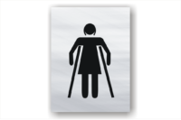 Female Ambulant Toilet sign