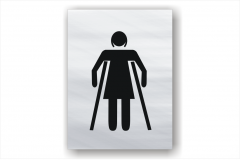 Female Ambulant Toilet sign