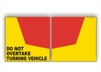 Truck and Heavy Vehicle Signs