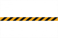Reflective Tape sticker - Hazard Tape