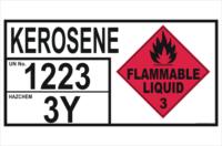Emergency Information Panel Kerosene Storage