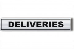 architectural Deliveries sign