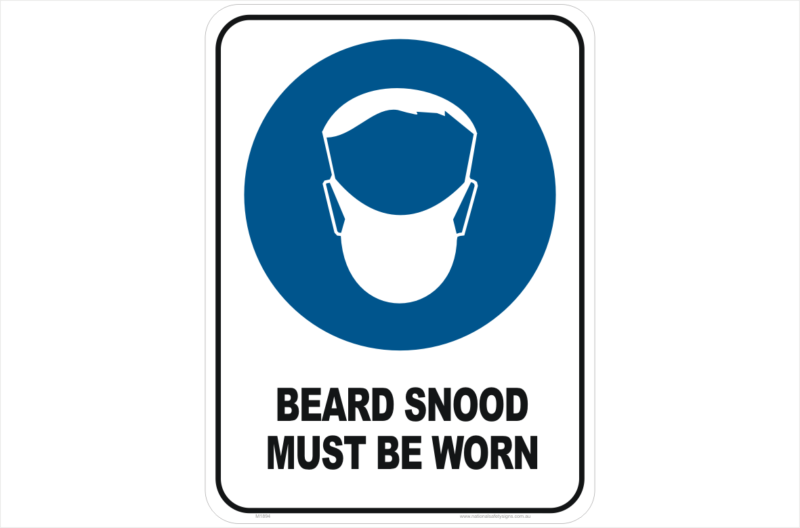Beard Snood sign