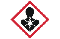 GHS08 Health Hazard label