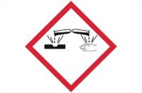 GHS05 Corrosive Label
