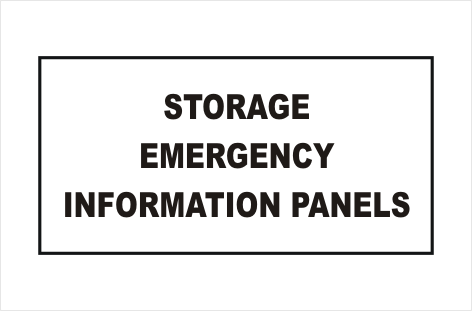 Dangerous Goods Storage Panel