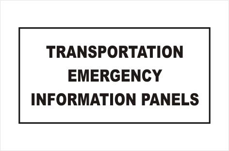 Dangerous Goods Transportation Panel
