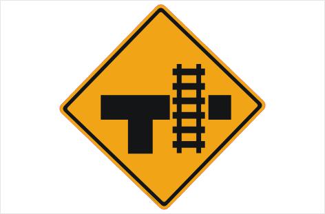 railway crossing sign rail crossing sign buy online