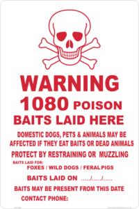 1080 Poison sign