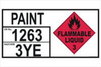Emergency Information Panel Paint Storage
