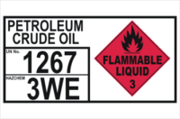Dangerous Goods Storage Panel Petroleum Crude Oil