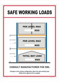 Safe Working Load sign