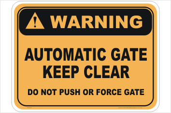 Automatic Gate Warning