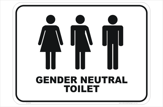 Gender Neutral Toilet sign