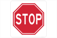 Stop Sign 600 x 600