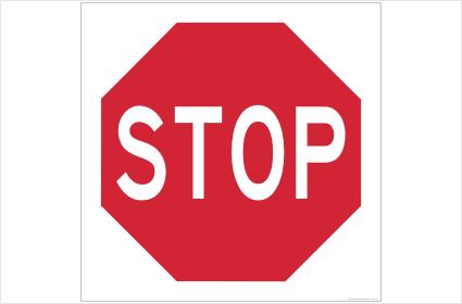 Stop Sign 600 x 600