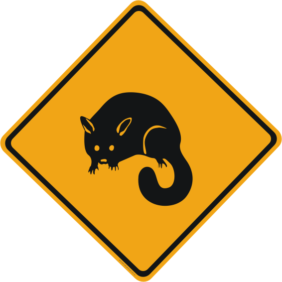 Possum sign