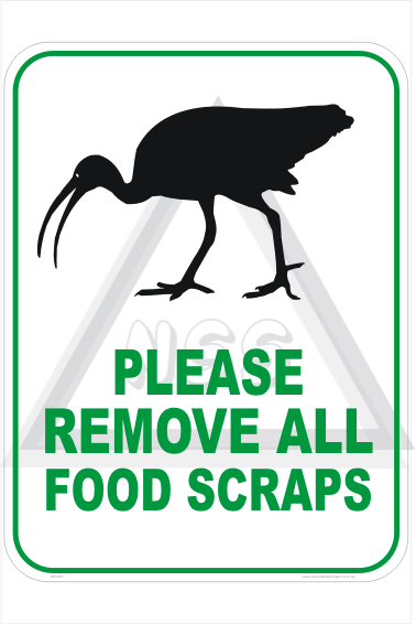 Feed birds Sign