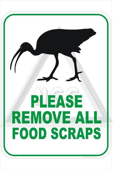 Feed birds Sign