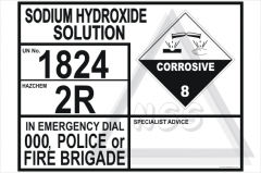 Sodium Hydroxide Solution Transport Panel