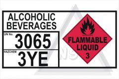 Alcoholic Beverages Storage Panel