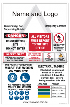 Australian Building contractors sign