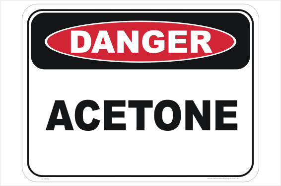 Acetone sign