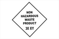 Non Hazardous Waste Placard