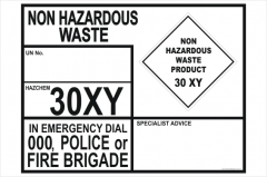 Non Hazardous Transport Panel