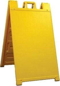 A-Frame Sign Stands - Plasticade Signicade Sign Stand A-Board
