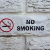 No Smoking super stick decal