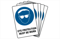 Bulk buy Eye Protection signs