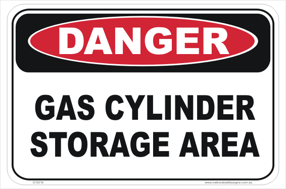 Gas Cylinder Storage Area