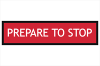 Multi Message Sign Prepare to Stop 1200x300