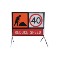 Multi-Message Reflective Traffic Control Signs