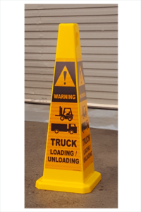Trucks Loading Safety Cone
