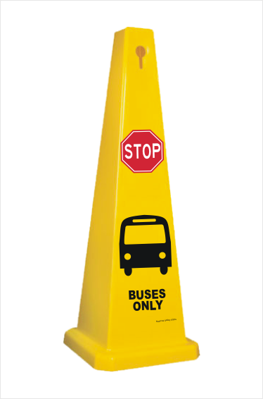 Buses Only Barrier Cone